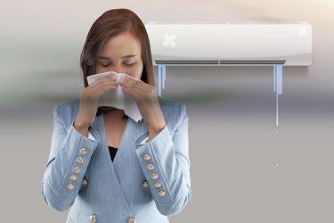 エアコンが臭い原因と除去方法をご紹介|ハートクリーニング